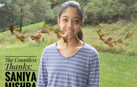 TCT's The Countless Thanks: Saniya Mishra