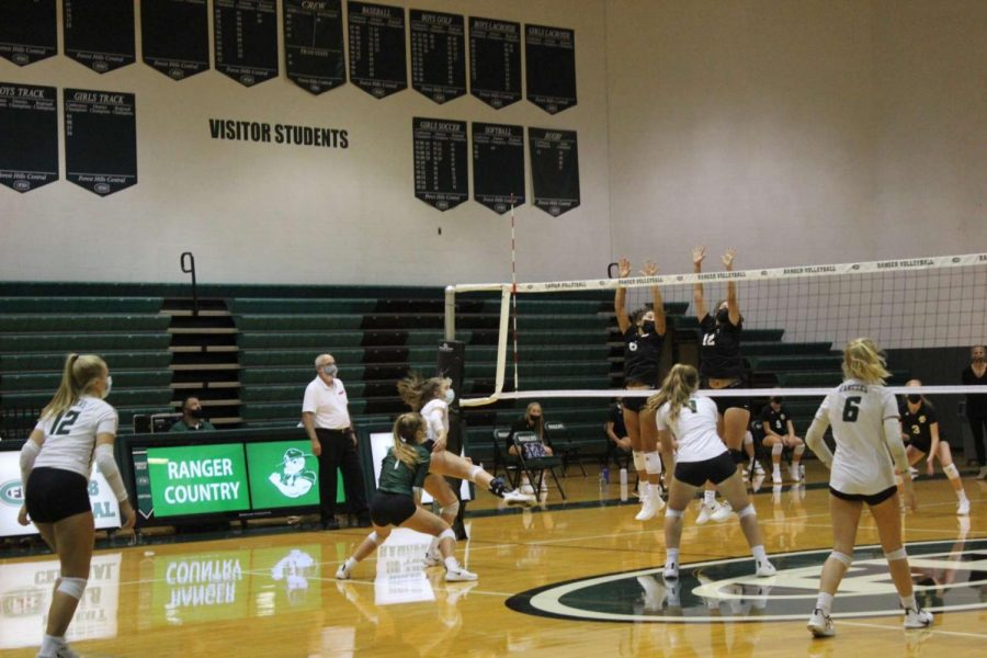 JV volleyball finishes off big year with 8-1 record