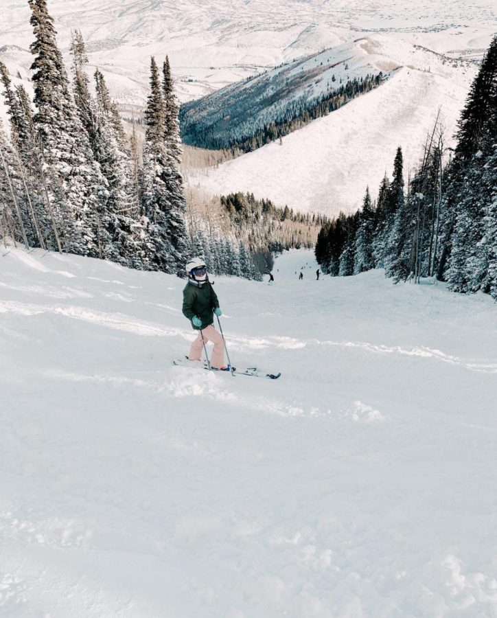 To sophomore Lucy McLean, the best part about skiing is her team and the friends she made on it