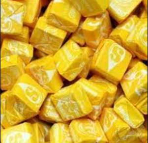 I am more than happy to be a yellow Starburst
