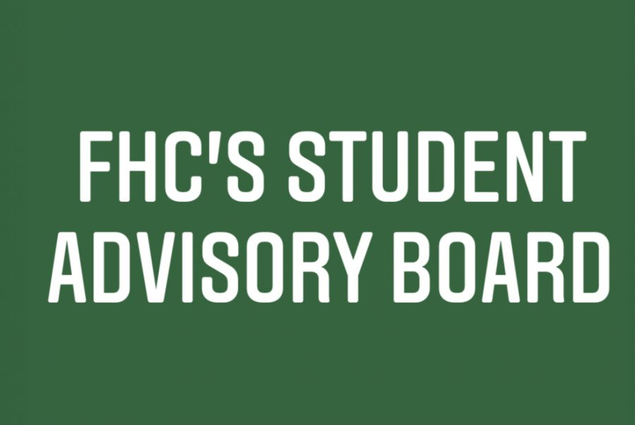 The Student Advisory Board aims to give students a place for their voices to be heard