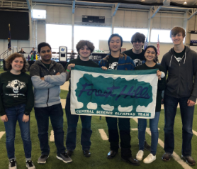 From Rachel Toole's The Central Trend Feature Science Olympiad continues to excel, securing a spot at states.