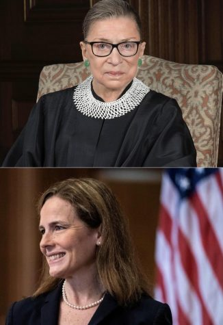 Adapted images from Judge Amy Coney Barrett