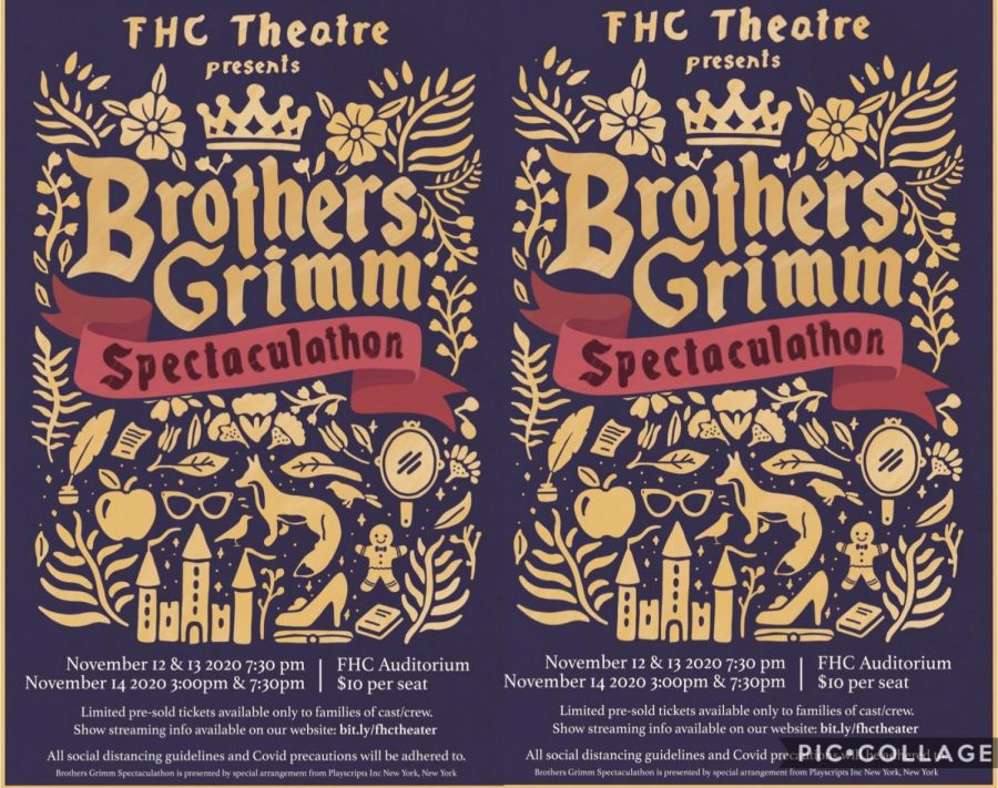 Brother's Grimm Fairy Tales Spectaculathon Cast Q&A's - Fall Play 2020