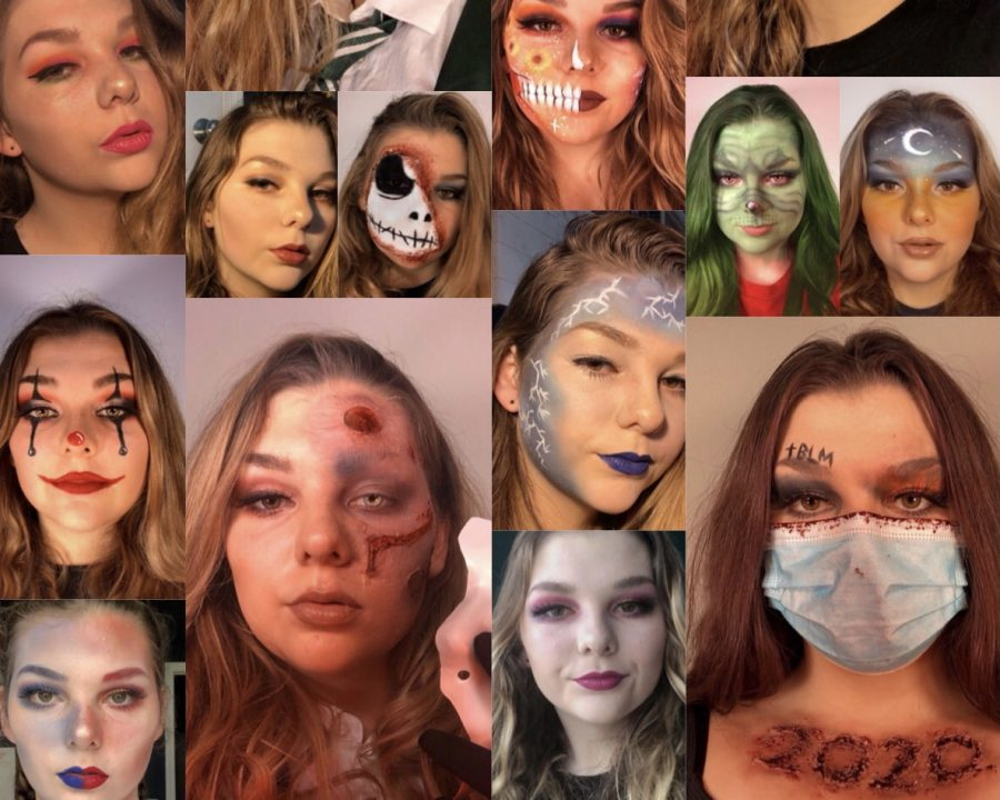 Olivia Oorbeck finds confidence by sharing her makeup looks on Instagram
