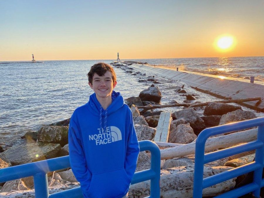 Ever since discovering his passion at Goodwillie Environmental School, freshman Ryan Brom has found drawing to be a relaxing hobby.