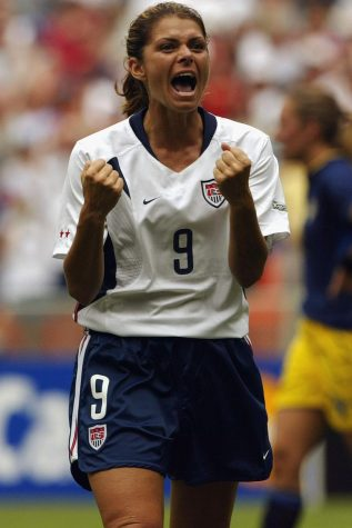 Mia Hamm: the greatest U.S. women