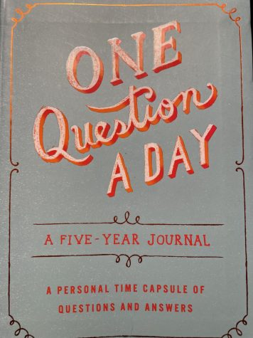 This is the One Question a Day Journal, a 5 year committment in knowing what you want