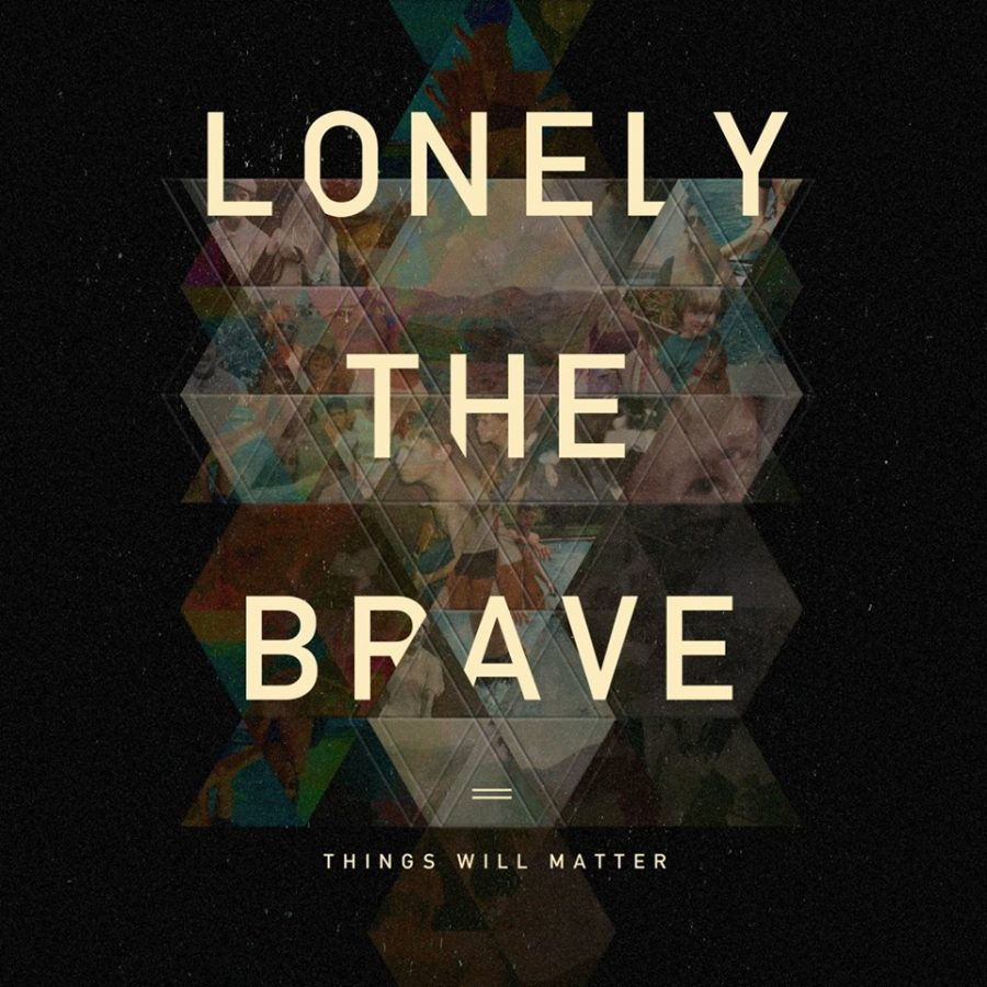 The newest album cover for Lonely the Brave