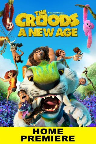 This is the movie poster for the Croods sequel.