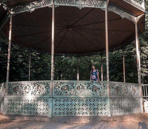 Mila Kavara travels worldwide seeking out her European roots