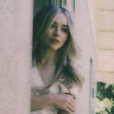 Sabrina Carpenter's cover photo for