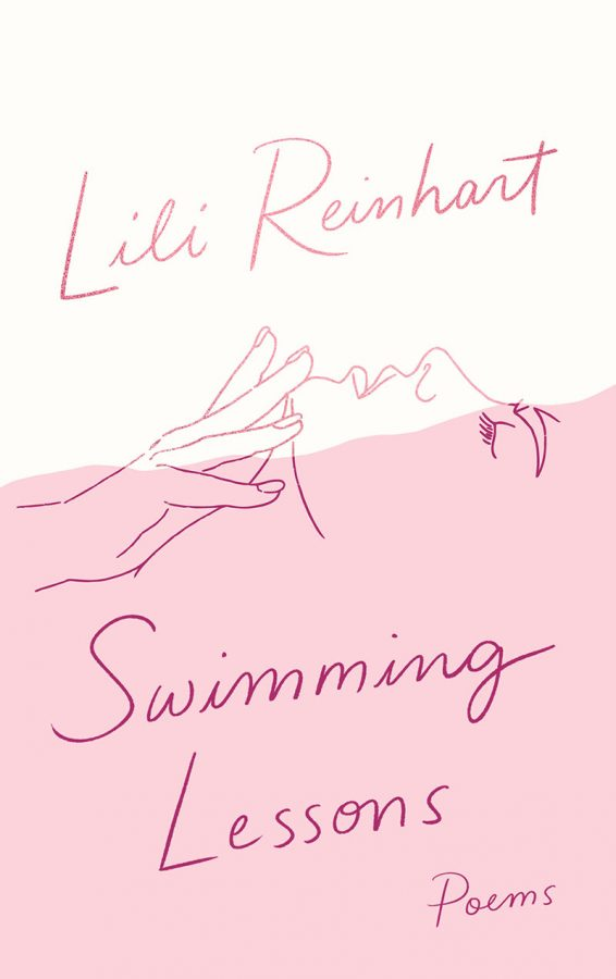 The cover of Lili Reinhart's debut poetry collection titled Swimming Lessons.