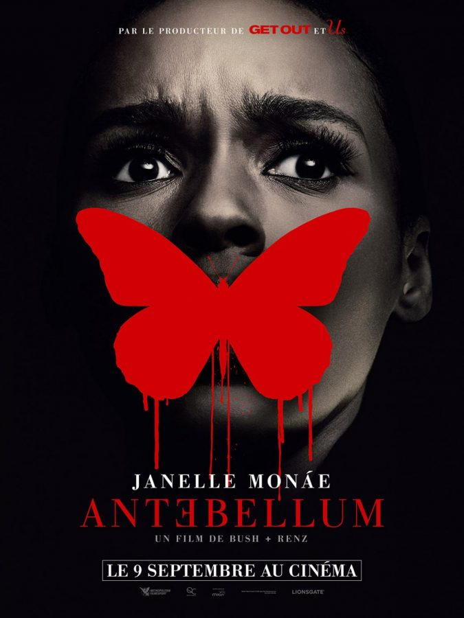 The official movie poster for Antebellum.