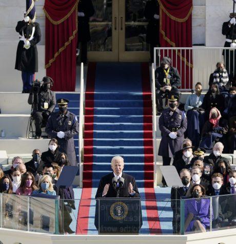 President Joe Biden speaks during the 46th Presidential Inauguration on Wednesday January 20th, 2021