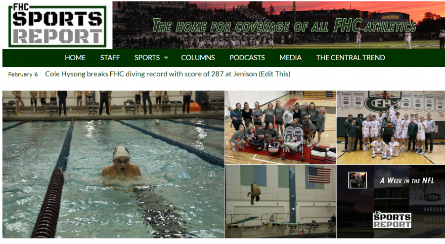 The new home of the FHC Sports Report