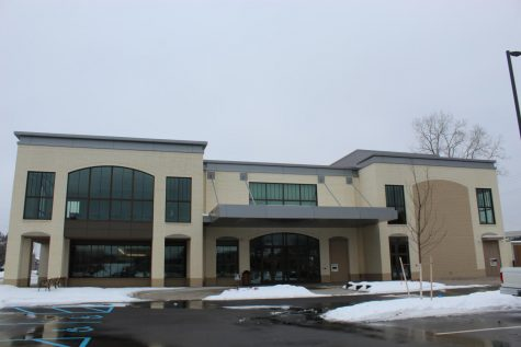 Featuring a picture of Kent District Library in Ada located on Headley St.