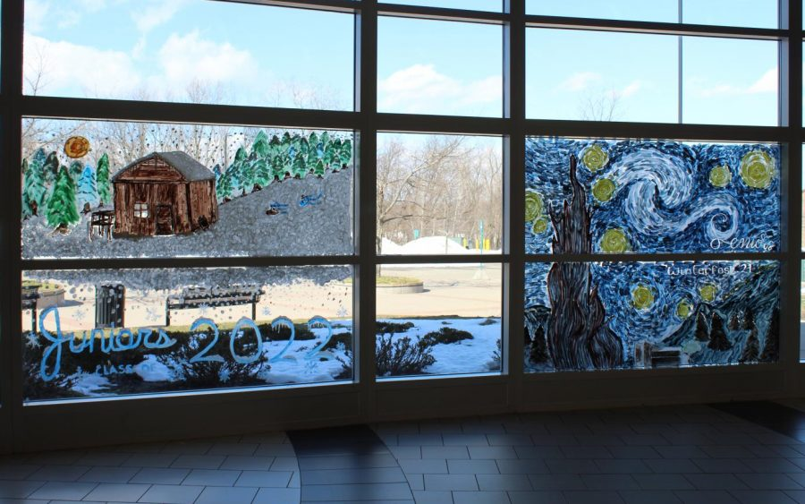 Window Paintings and Snow Sculptures 2021: Photo Gallery