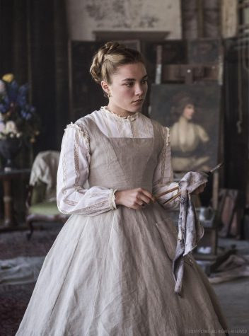 The absolute beauty that is Florence Pugh as Amy March.