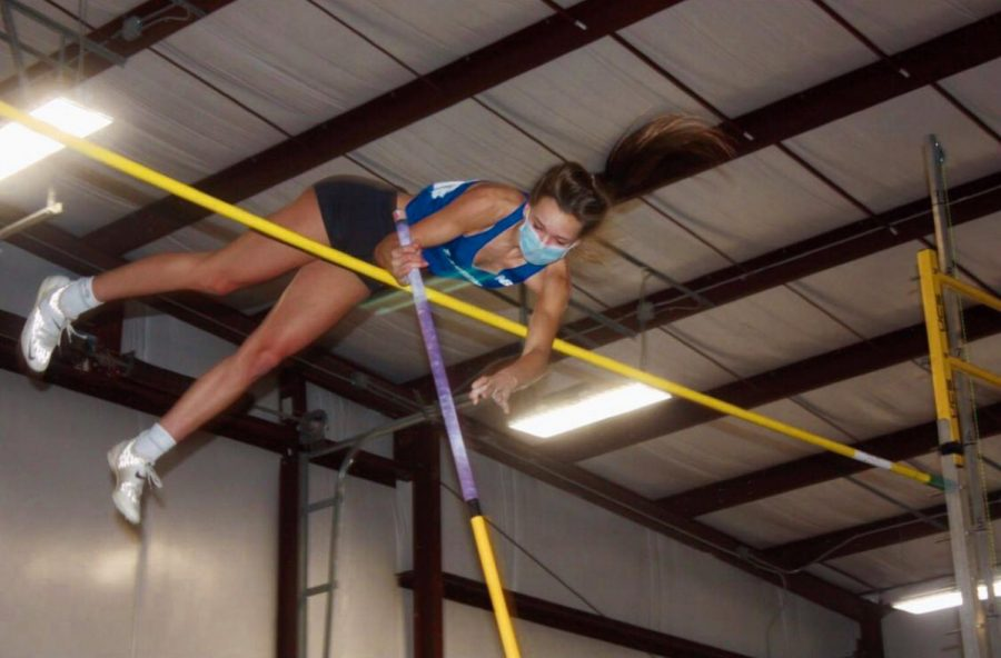 Brooke Bowers aspires to fulfill her pole vaulting dreams