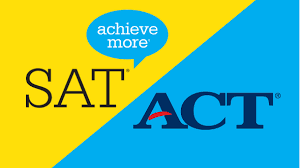 Showing both the ACT and SAT saying that we can achieve more once we prepare for the test.