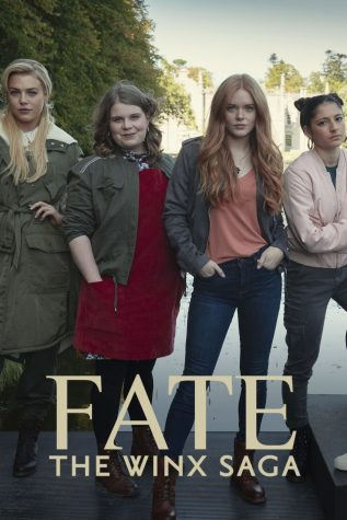 The cover of the series depicting all the actors in the show