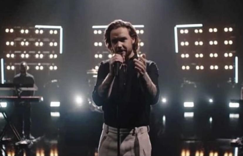 Liam Payne's online concert.