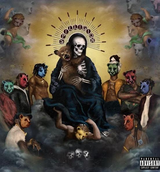 The album cover for Spilligion.