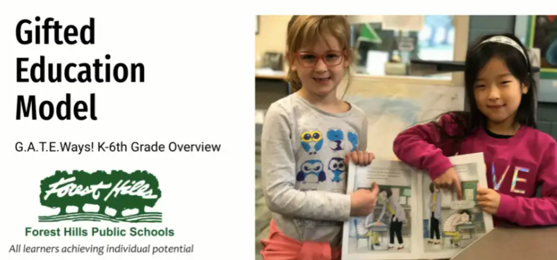 The G.A.T.E.Ways program as advertised on the Forest Hills website