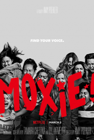 The poster for phenomenal feminist and protest-centered Netflix original movie Moxie!