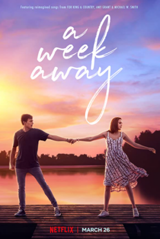 The poster for the Netflix movie A Week Away, taken from IMDb.
