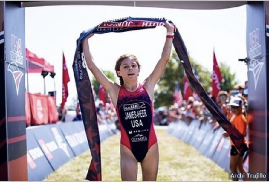Clara James-Heer is one of the best runners FHC has seen