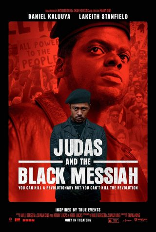 The movie cover for Judas and the Black messiah.