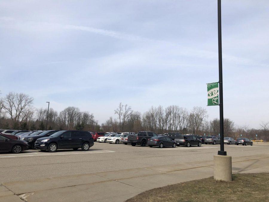 The full FHC parking lot