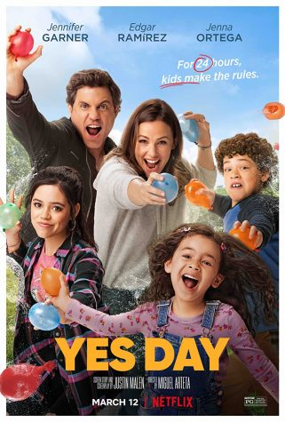 The cover image for Yes Day showing the main characters