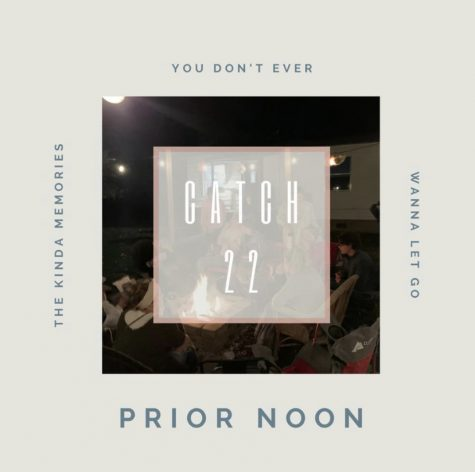 "Prior Noon is a Lowell, Michigan originated band, and this is the cover for their newest song, ""Catch 22"""