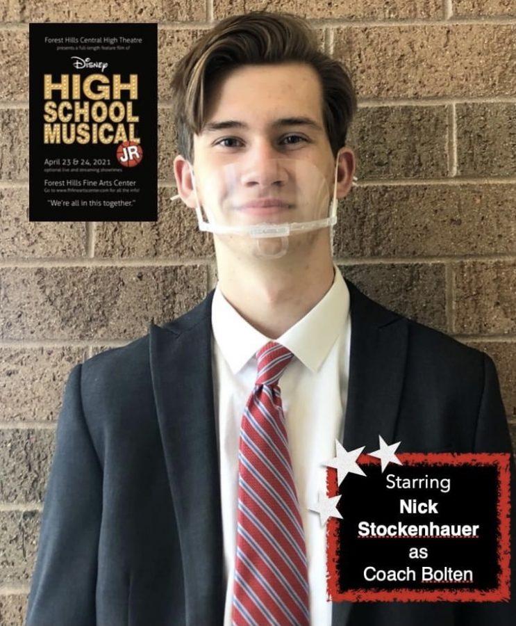 High School Musical Jr. Q&As: Nick Stockenauer