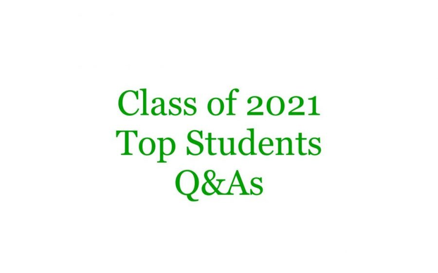 Top Students 2021 Q&As