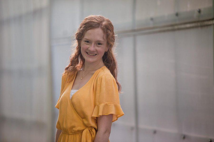 Senior prom court nominee Molly Vonk