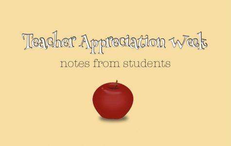Teacher Appreciation Week Notes: day five