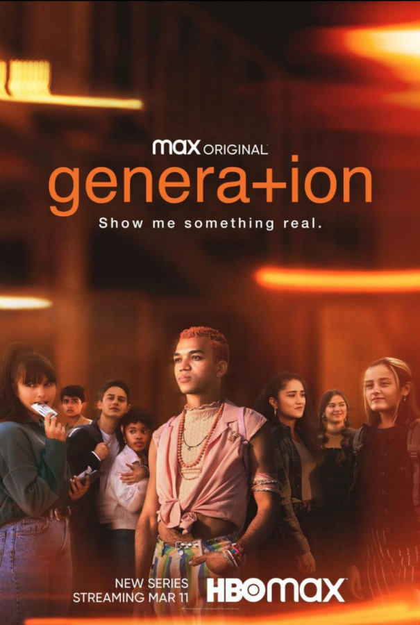 The main poster for HBO's newest alt-teen drama, Generation.