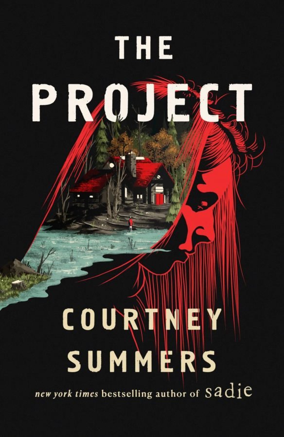 The cover art for Courtney Summers' new book The Project, taken from Goodreads.