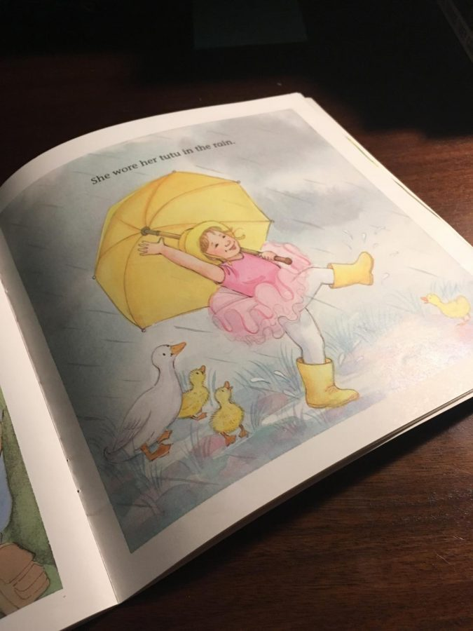 This is my favorite page in my favorite childhood book—I Wear My Tutu Everywhere!