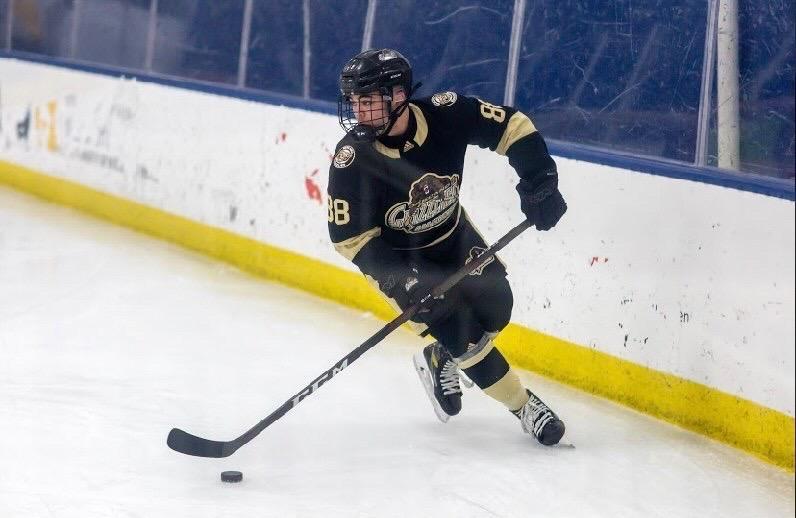Alec Stewart allows himself growth and development through playing hockey