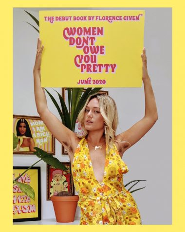 Here is the author Florence Given promoting the release of her book Women Don