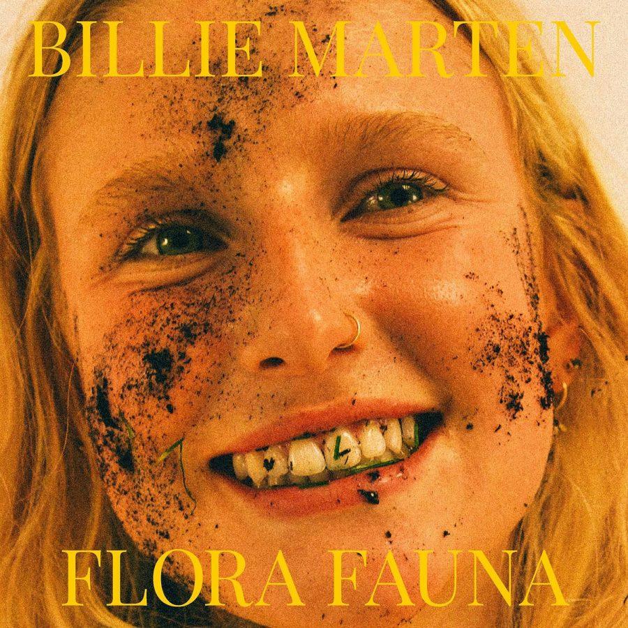 The album photo for Billie Marten's newest release, Flora Fauna.