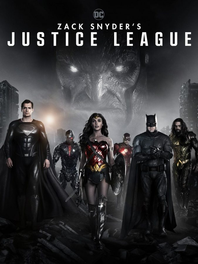 Zack Snyder's directed Justice League's official movie poster