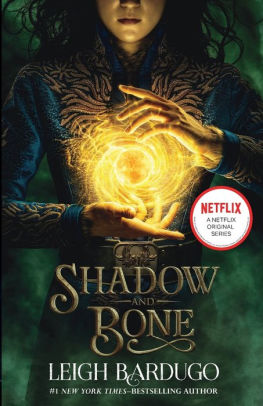 The cover of the Shadow and Bone books showcasing the Sun Summoner.