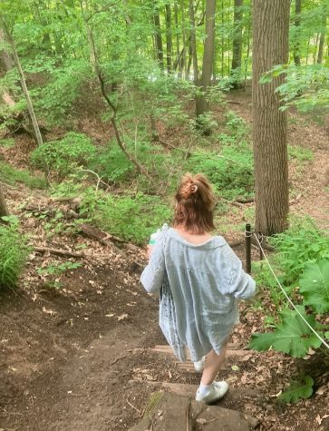 My best friend took this photo of me on a hike the other day. I feel like it symbolizes a beginning of some kind.
