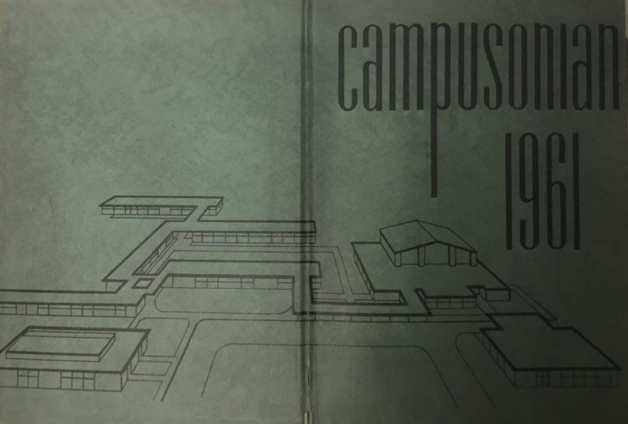 The layout of the school before it became one building.